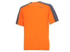 Contrast Shoulder - Orange/Grey