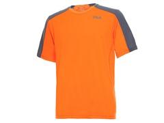 Contrast Shoulder - Orange/Grey