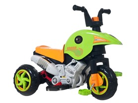 Dual Action Battery and Pedal Trike