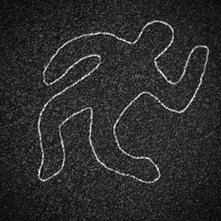 The Debunker: Do Police Outline Dead Bodies in Chalk? - Woot