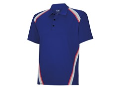ClimaCool Pique Angular Polo - Blue