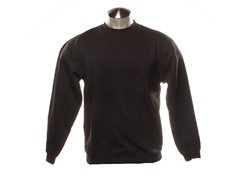 Crew-Neck Sweatshirt - Black