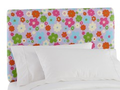 Upholstered Headboard Buttercup Girly
