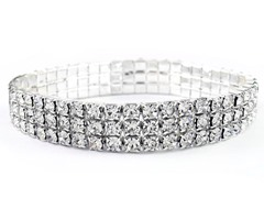 Swarovski Elements Crystal Stretch Bracelet