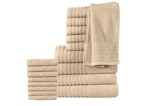 18-Piece 100% Cotton 600GSM Towel Set HG98242A
