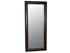 Egeus Brown Leather Frame Floor Mirror