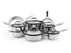 KitchenAid 12pc Stainless Cookware Set