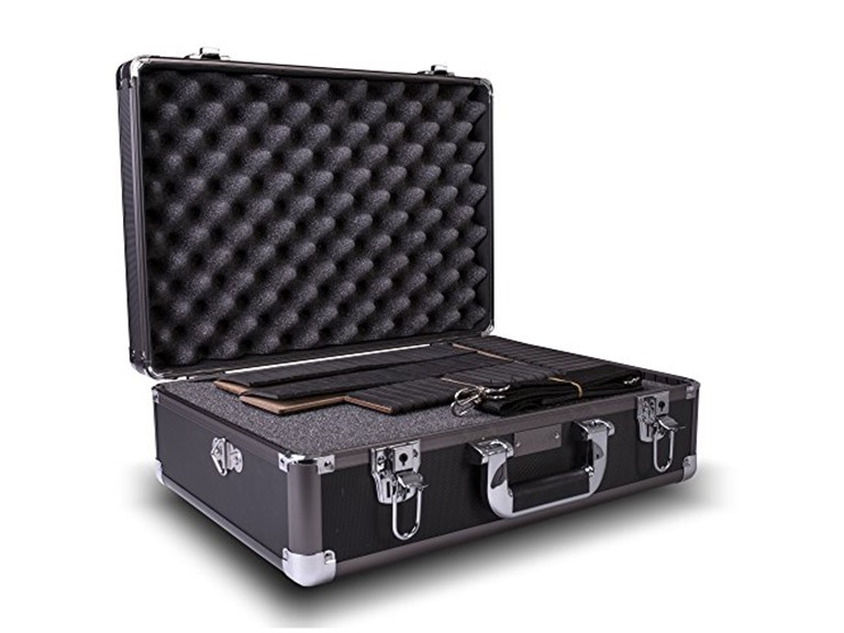 Zeikos Deluxe Medium Hard Shell Camera Case