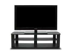 Entertainment Center TV Stand - Black