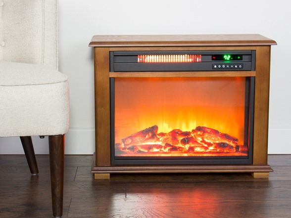 Lifesmart 28 5 Electric Fireplace