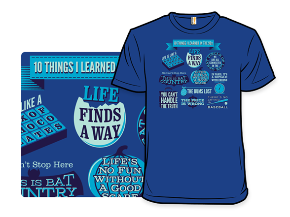 Image of 10 More Things T Shirt