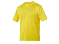 Fila Men's Yellow Heathered Crew (XL+)