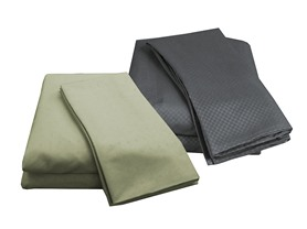 Embossed Microfiber Sheet Sets-2 Styles