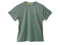 Boys Heathered Bright Tee - New Grey
