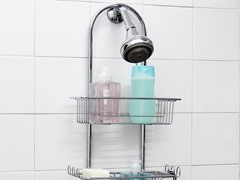 Vanderbilt Chrome 2 Tier Shower Caddy