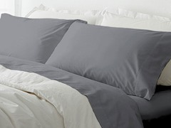 MicroFiber Sheet Set - Grey - 4 Sizes