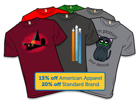Shirt.Woot Detour! Top 20 Shirts 20% Off!