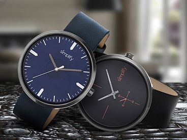 Simplify Leather and Bracelet Strap Watches