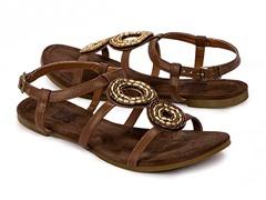Muk Luks Women's Aurora Sandals, Brown