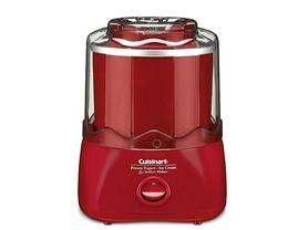 Cuisinart 1-1/2 Qt Ice Cream Maker Red