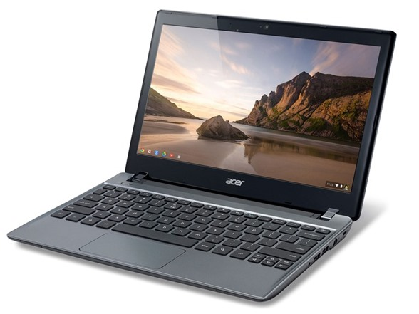 """Acer 11.6"""" Dual-Core 16GB SSD Chromebook"""
