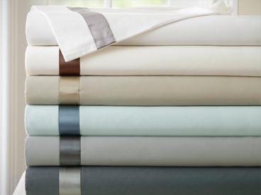 400TC Cotton Sheets w/Hem Treatments