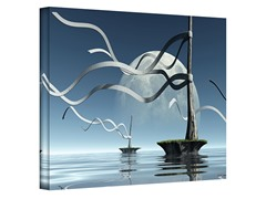 Cynthia Decker Ribbons Canvas