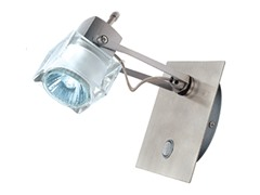 1-Light Satin Wall Sconce, Frosted