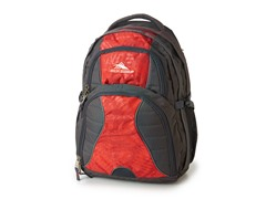 High Sierra Swerve Backpack - Grey Red