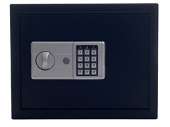 Electronic Large Safe Black