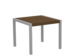 MOD Dining Table, Silver/Teak