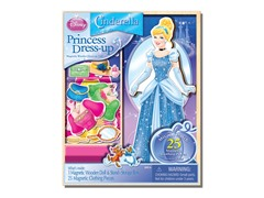 Disney Cinderella 25 Piece Wood Magnetic Play Doll