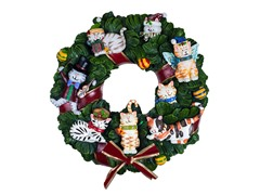 Holiday Cats Musical Wreath