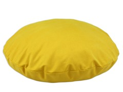 "Duck Yellow 35"" Round Pet Bed"
