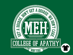 College of Apathy - Kelly Green