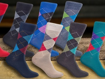 10 Pairs of Florshiem Dress Socks