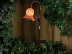 Westinghouse Solar Garden Morning Glory Light, Red