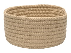 Sand Woven Storage Basket - 3 Sizes