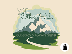 Our Grass is Always Greener Tote