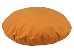 "Sensations Orange 36"" Round Pet Bed"