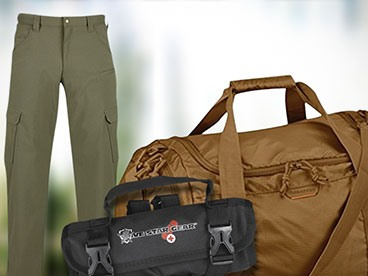 First Aid Kits, Tactical Gear, Apparel & More!