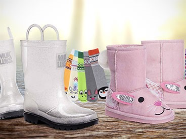 Muk Luks Kids Rain Boots and Shoes