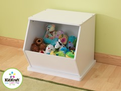 Single Storage Unit - White