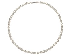 "Freshwater Pearl 18"" Necklace, White"
