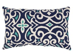 Damask Rectangular Throw Pillow