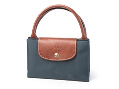 Longchamp Le Pliage Handbag, Gray