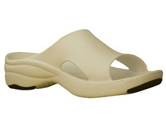Women's Premium Slide, Tan / Black