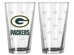 Packers Pint Glass 2-Pack