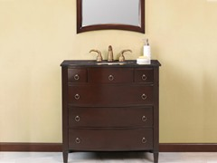 "Venice 36"" Single Sink Vanity & Mirror"