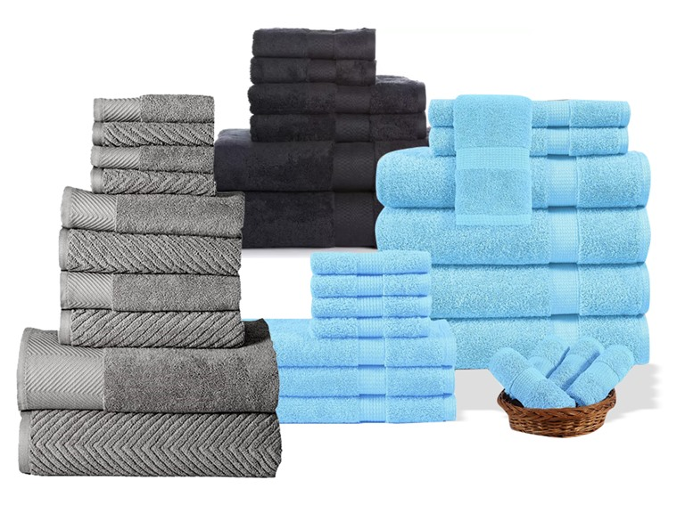 Homespun Global Towel Sets, Your Choice